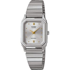 Casio Collection Classic Quartz Silver Dial Silver Stainless Steel Bracelet Ladies' Watch LQ-400D-7AEF