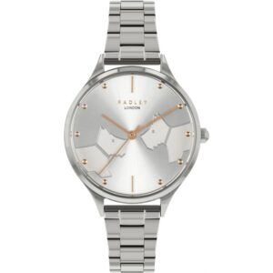 Radley Face To Face Quartz Silver Dial Stainless Steel Bracelet Ladies Watch RY4513