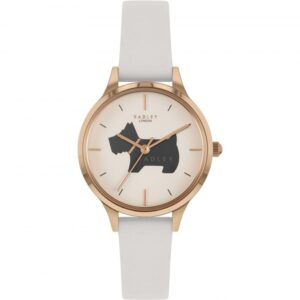 Radley Meridan Place Quartz White Dial Leather Strap Ladies Watch RY2976