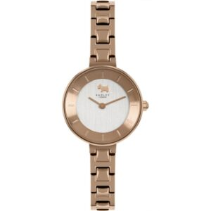 Radley Newick Road Quartz Silver Dial Rose Gold PVD Stainless Steel Bracelet Ladies Watch RY4522