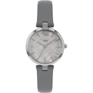 Radley West View Quartz Grey Dial Leather Strap Ladies Watch RY2969