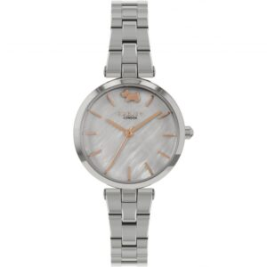 Radley West View Quartz Grey Dial Stainless Steel Bracelet Ladies Watch RY4509