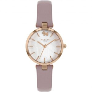 Radley West View Quartz White Dial Pink Leather Strap Ladies Watch RY2970