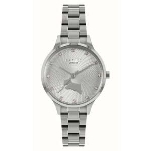 Radley Wilton Way Quartz Silver Dial Stainless Steel Bracelet Ladies Watch RY4517