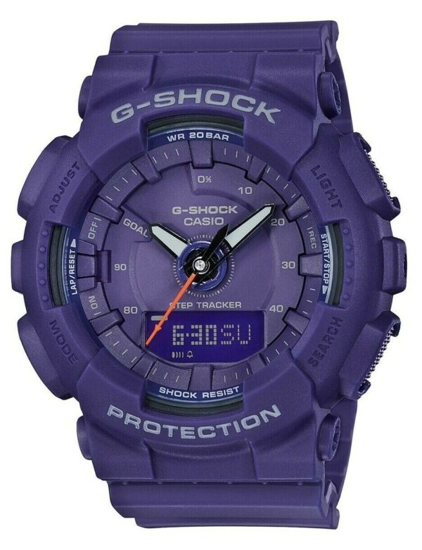 Casio G-Shock Classic Compact Purple Case Ladies Watch GMA-S130VC-2AER 46mm